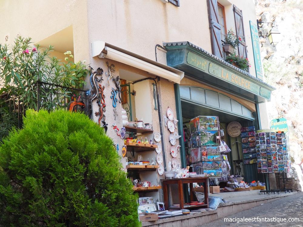 Moustiers Sainte Marie - Les Gorges du Verdon - Provence