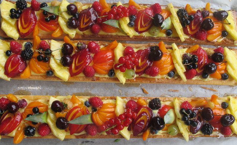 Tarte aux fruits - Pâtisserie Bosca - Gardanne