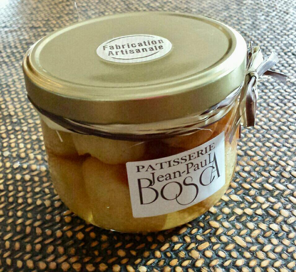 Petit bocal mini babas au rhum- Pâtisserie Bosca - Gardanne
