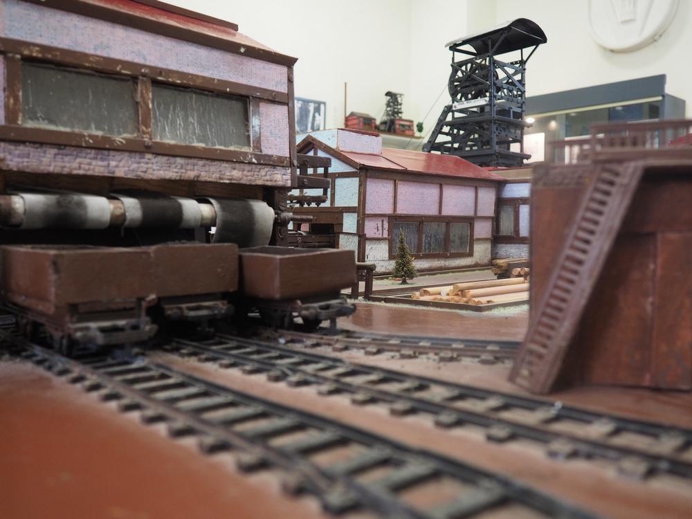Maquette musée de la mine de Gréasque